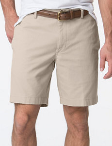 Chaps Big & Tall Flat Front Shorts