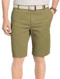 Izod Big & Tall Flat Front Stretch Shorts