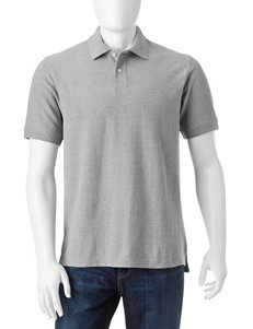 Sun River Grey Heather Polos