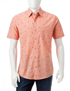 Haggar Shrimp Casual Button Down Shirts