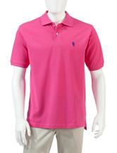 U.S. Polo Assn. Solid Color Piqué Polo Shirt
