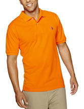 U.S. Polo Assn. Solid Color Piqué Polo Shirt