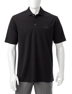 Pebble Beach Black Polos