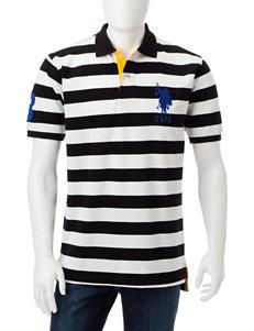 U.S. Polo Assn. Black / White Polos