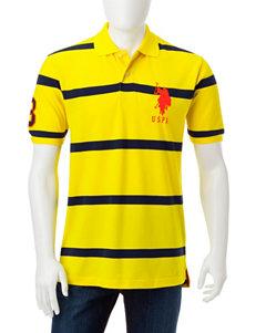 U.S. Polo Assn. Bright Yellow Polos