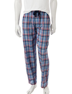 Izod Blue Atoll Pajama Bottoms