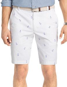 Izod Anchor Print Shorts