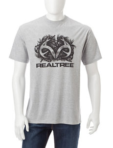 Realtree Grey Tees & Tanks