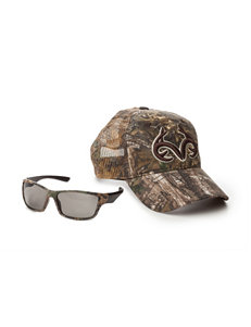 Realtree 2-pc. Camo Print Cap & Sunglasses