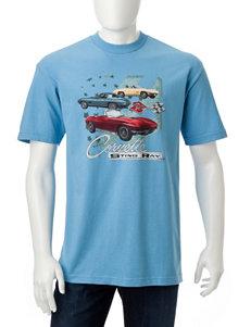 Licensed Blue Tees & Tanks