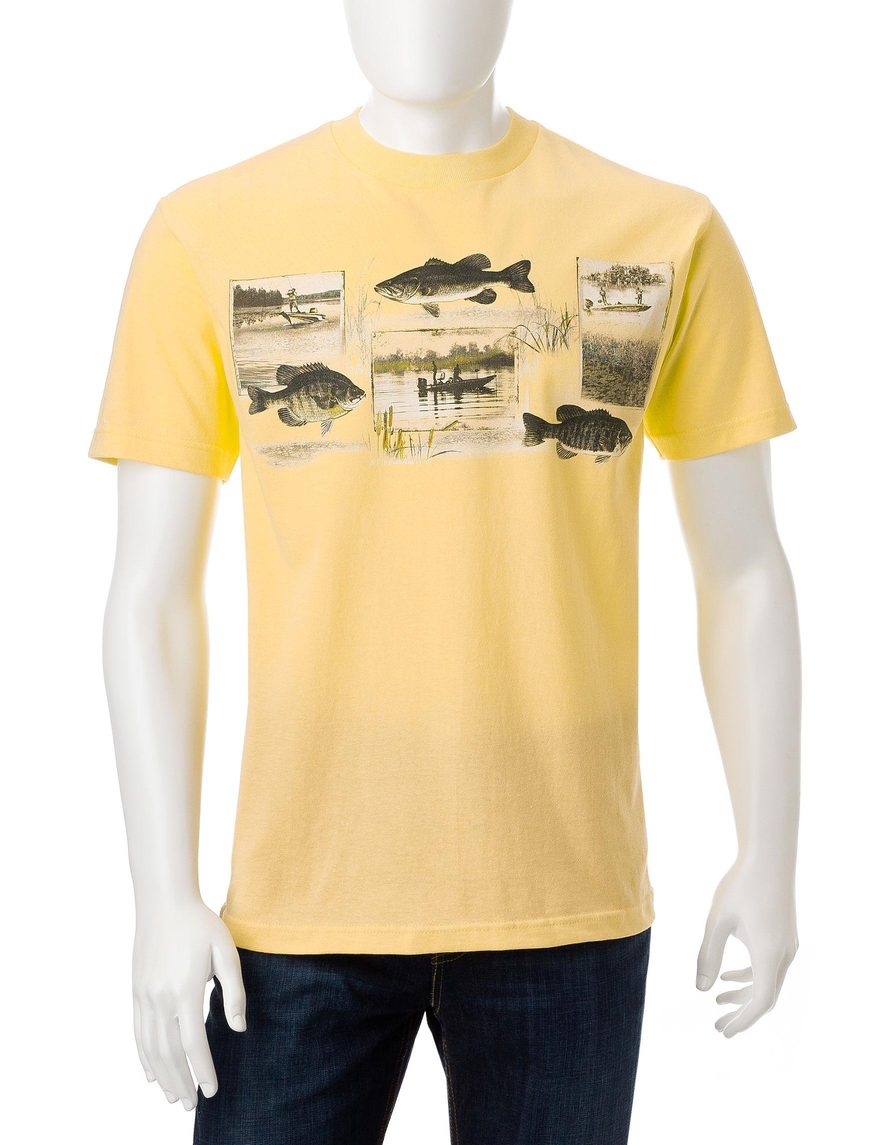 Licensed Yellow Tees & Tanks