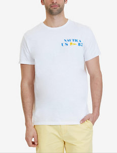 Nautica White Tees & Tanks
