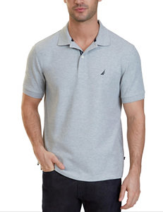 Nautica Heather Grey Polos
