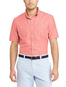 Chaps Persimmon Casual Button Down Shirts