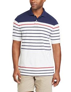 Chaps White Casual Button Down Shirts