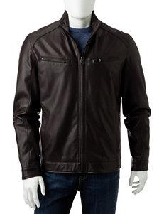 Michael Kors Brown Bomber & Moto Jackets