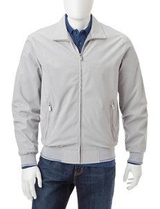 Weatherproof Gray Bomber & Moto Jackets