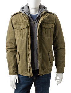 Levi's Khaki Lightweight Jackets & Blazers