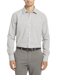 Van Heusen White Casual Button Down Shirts