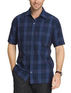 Van Heusen Textured Woven Shirt