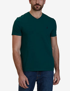 Nautica Green Tees & Tanks
