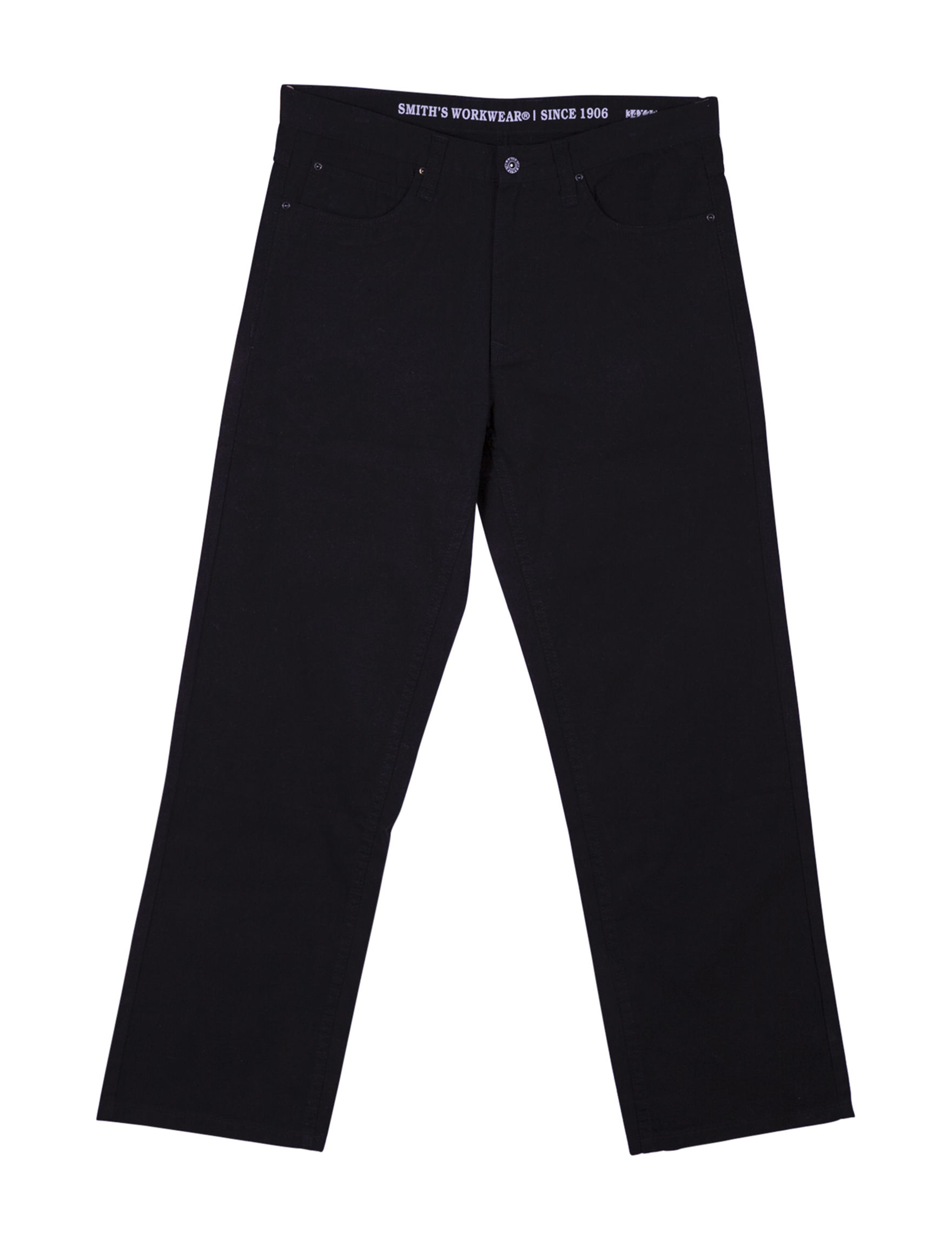 Smith's Workwear Black Relaxed