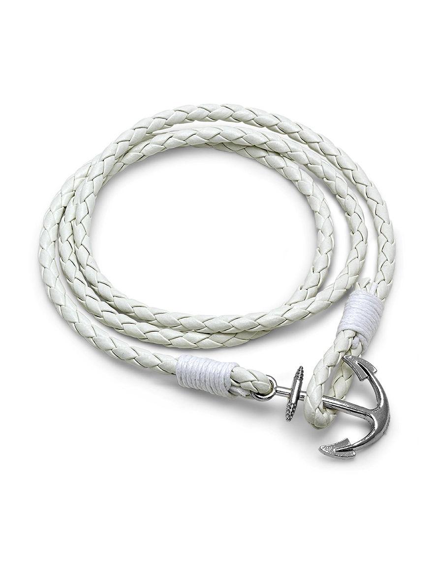 HMY White Bracelets