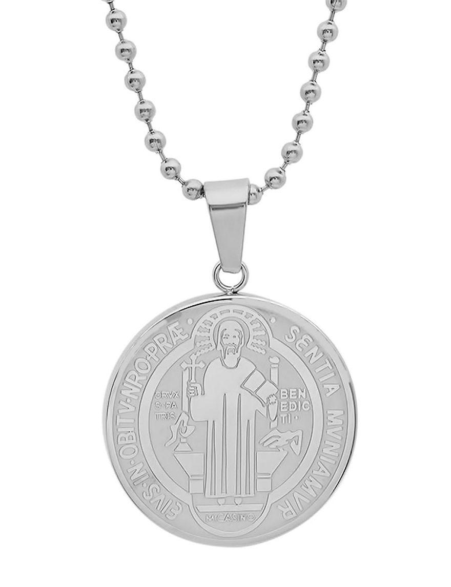 HMY Steel Necklaces & Pendants