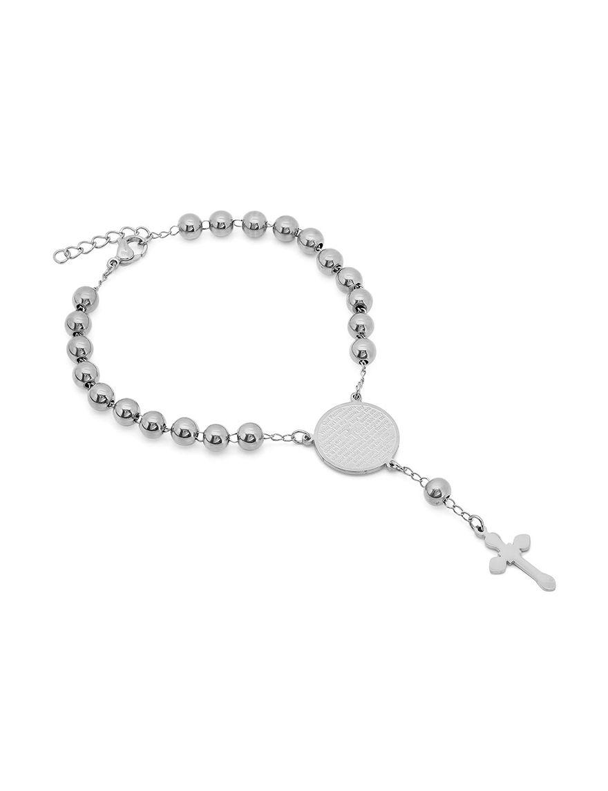 HMY Metallic Grey Bracelets