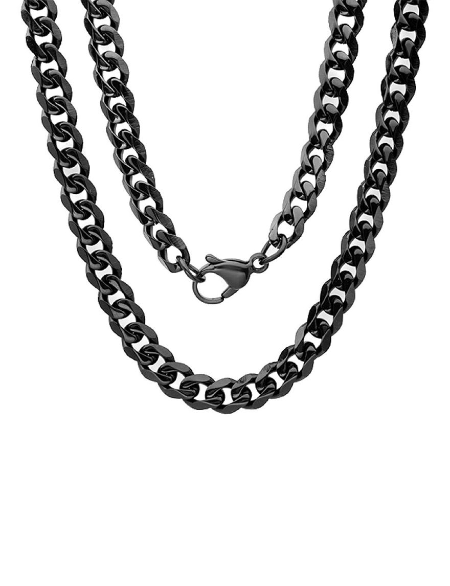 HMY Black Necklaces & Pendants