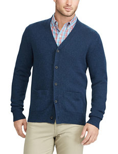Chaps Navy Sweaters
