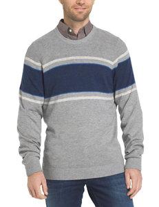 Izod Grey Sweaters