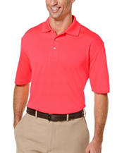 PGA Tour® Solid Mesh Polo Shirt
