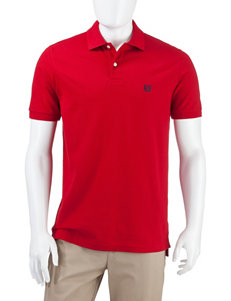 Chaps Red Piqué Polo Shirt