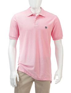 Chaps Solid Color Piqué Polo Shirt