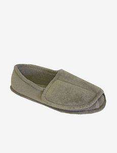 Terry Adjustable Open Toe Full Foot Slippers