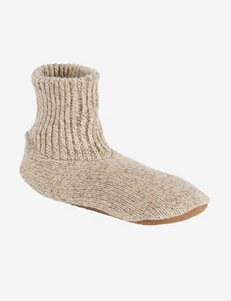 Muk Luks Morty Ragg Wool Slipper Socks