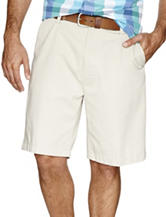 Nautica Flat Front Twill Shorts