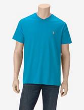 U.S. Polo Assn. Solid Color V-Neck T-shirt