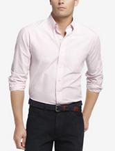 Izod Shadow Gingham Woven Shirt – Men's