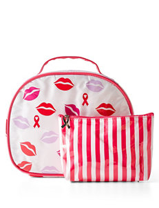 2-pc. Breast Cancer Awareness Kiss Me Cosmetics Case