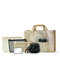 Luxury 9-Piece Gold Travel Set Gift with Purchase