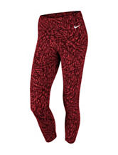 Nike® Red & Black Club Leggings