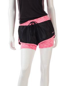L.A. Gear Black Soft Shorts