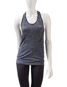 L.A. Gear Seamless Space Dye Racerback Tank Top – Misses