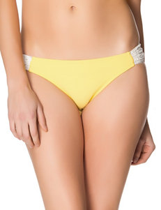 Jessica Simpson Boho Crochet Side Tab Hipster Swim Bottoms – Misses