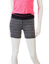 RBX Striated Color Block Active Shorts