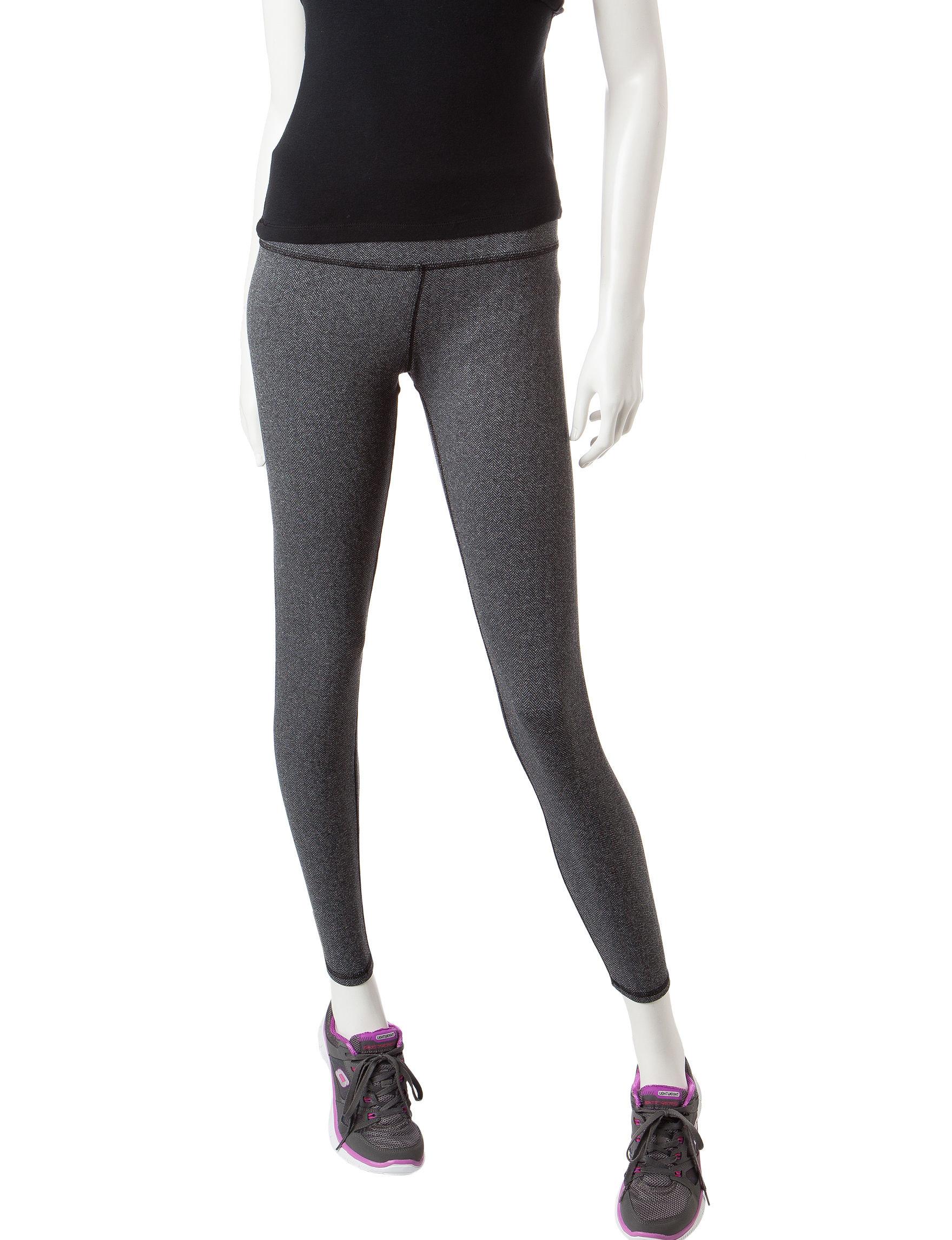 RBX Black / Grey Leggings