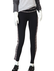 H2 Hannah Performance Black & Gray Cell Phone Pocket Leggings