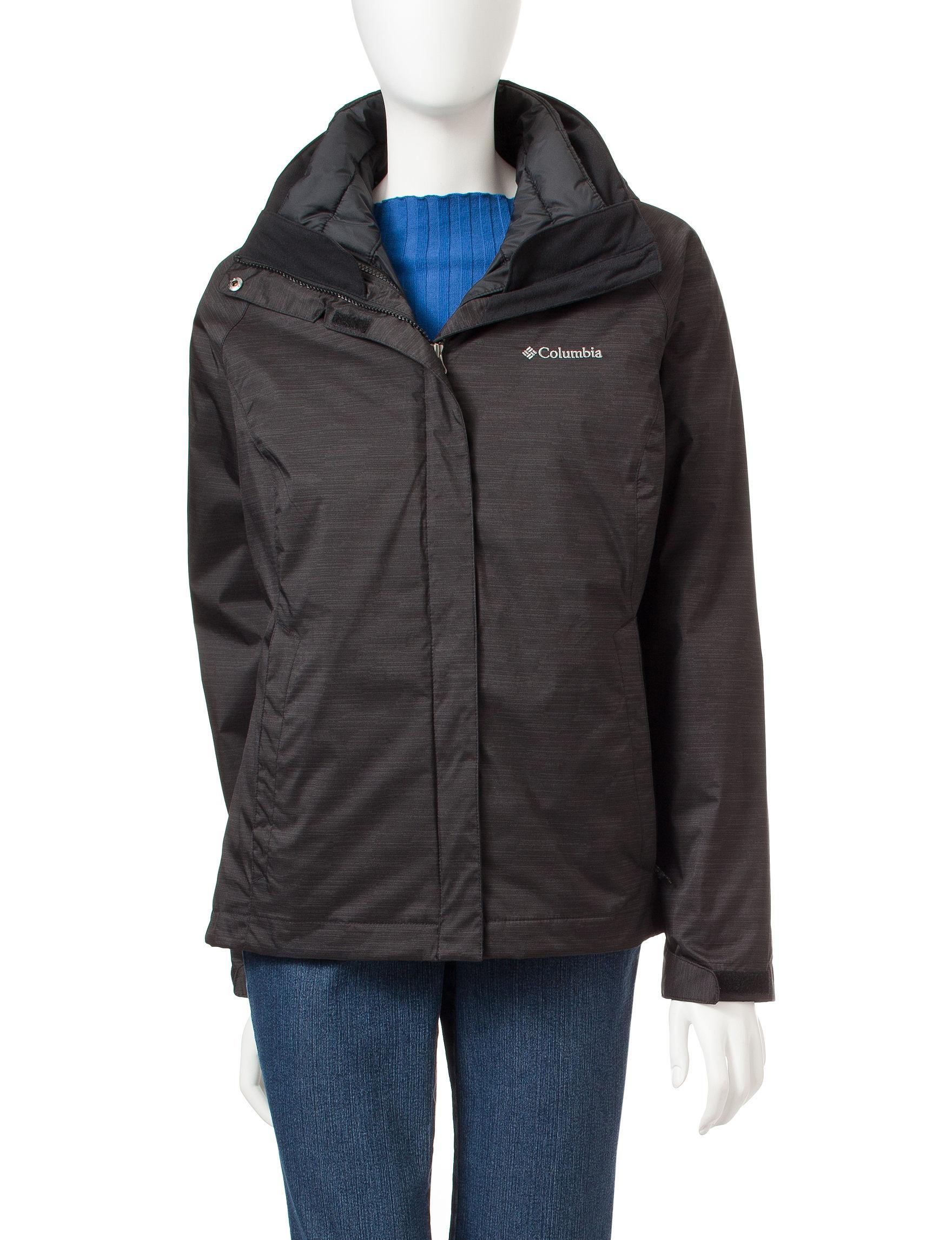 Columbia Grey Lightweight Jackets & Blazers